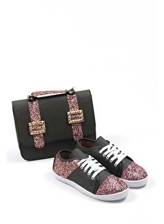 Gob London Kadın Spor Ayakkabı Çanta Kombin 1015-105-0001